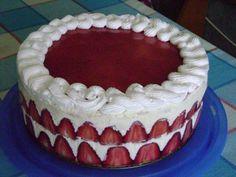 Tort vanilie si capsune - imagine 1 mare