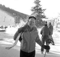 Gerald Ford hitting the slopes:   37 Photos Of Presidents Bro-ing Out