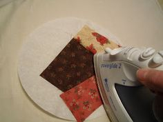 Sew Many Ways...: coffee filters to sew round patterns