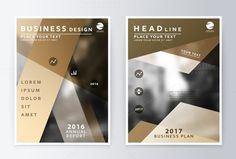 Annual report and brochure.. Business Infographic