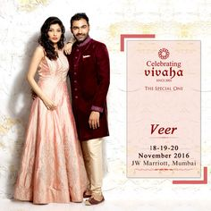 The Wait is Finally Over!!! We are Coming to #Mumbai with the Asia's Biggest and Most Luxurious Wedding Exhibition. Celebrating Vivaha unveiling Jiya by Veer Design Studio latest #Wedding collection exclusively at JW Marriott Hotel Mumbai Juhu on 18th, 19th and 20th November 2016. If you think your #Bridal collection has got all it takes then you too can feature as a designer in Asia's Biggest #WeddingExhibition in Mumbai.