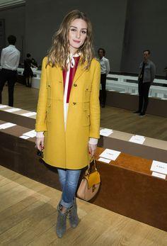 Olivia Palermo At The Chloe Show At Paris Fashion Week | The Most Fab