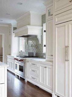 hidden panel refrigerator
