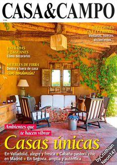 Revista Casa & Campo - Agosto 2015. Descargar gratis pinchando sobre la imagen. #decoración #interiorismo