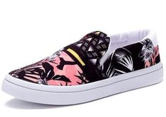 Adidas Originals Court Slip On Trainers Pumps Deck Shoes Floral Sizes Latest Trainers, Slip On Trainers, Adidas Originals, Slip On Pumps, High Top Sneakers, Deck, Cgi, Floral, How To Wear