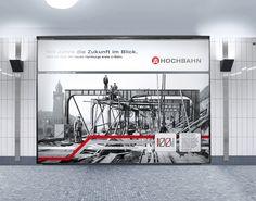 100 Jahre Hochbahn AG. Eine Kampagne schreibt Geschichte. Von 1906 bis 1912 baute die Hochbahn AG Hamburgs erste U-Bahn. Die Orange Cube Werbeagentur entwickelte eine Werbekampagne zum Jubiläum, die über den Zeitraum von 2006 bis 2012 sechs Schwerpunktthemen beleuchtet. Mehr http://orange-cube.de/static.php?page=100-jahre-hamburger-hochbahn-6