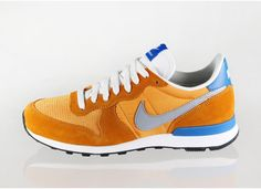 Nike Internationalist (Kumquat / Silver - Military Blue - Summit White)
