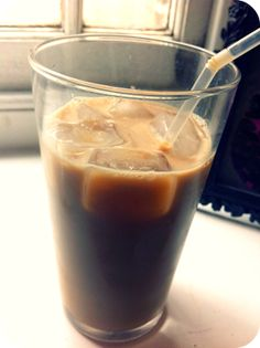 Big Blonde Dreams: Starbucks Iced Coffee Recipe!