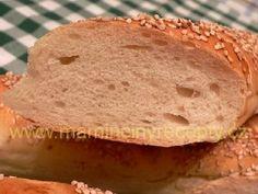Tatarkové bagetky Bread, Food, Brot, Essen, Baking, Meals, Breads, Buns, Yemek