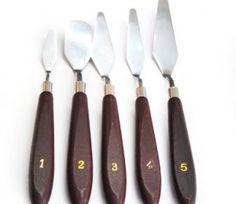 Palette Knife Set of 5 for R45  | Paradise Creative Crafts - Online shop
