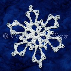 Thunder Bowl Snowflake - free crochet pattern from Snowcatcher.