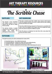 FREE Download: Art Therapy Exercise Scribble Chase