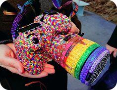 candies, rainbows and camera