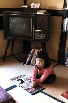 fos 昔のテレビw…ガチャガチャ回してチャンネル変えました