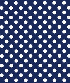 Riley Blake Dots Medium Navy Fabric