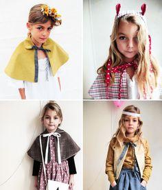 adorable kids capes