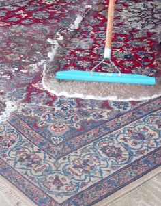 Wash your own rugs