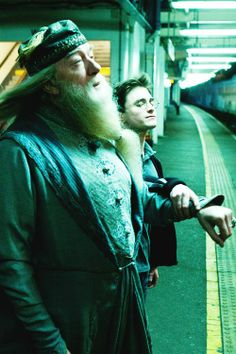 Apparition with Dumbledore ~ Harry Potter and the Half Blood Prince