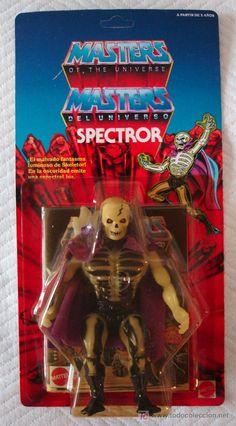 Masters del Universo (MOTU) - SPECTROR ( SCARE GLOW ) en BLISTER ESPAÑOL - ¡¡¡UNPUNCHED!!! - Foto 1