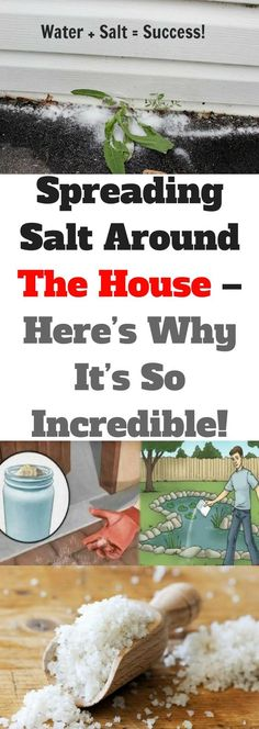 Spreading Salt Around The House. Here's Why It's So Incredible! Easy Recipes, Spicy Recipes, Chili Recipes, Great Recipes, Healthy Recipes, Cleaning Hacks, Cleaning Closet, Cleaning Products, Copper Cleaner