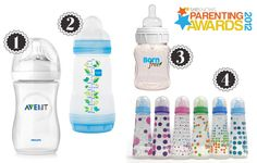 Parenting Awards bottles