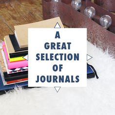 Do you love notebooks? I found all my favourite journals. Have a look at the selection & let me know which is your favourite! By Found Some Paper