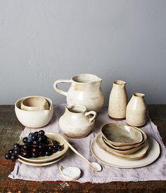 Food style item on Anna Karina ceramics. Ceramic Tableware, Ceramic Pottery, Pottery Art, Ceramic Art, Kitchenware, Earthenware, Stoneware, Objet Deco Design, Keramik Design