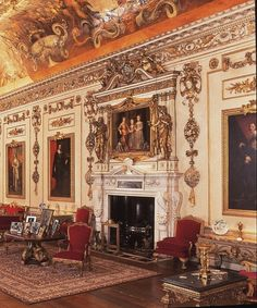 Robert adam syon house syon house londres for Hotel cube londres