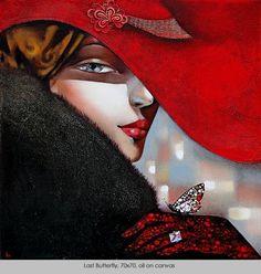 Last Butterfly - Ira Tsantekidou- Paintings since 2008