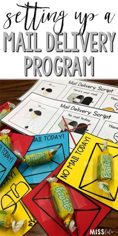A mail program is a perfect way to teach students social and pre-vocational skills! Read these quick tips to get one set up in your special education classroom.