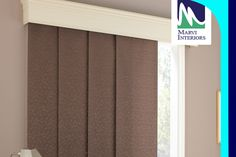 #Panel #track #blinds, also known as #sliding window panels or panel tracks, Marvi Interiors collections are perfect for covering large windows and sliding doors.