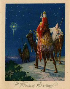 Wise Men follow the star by The Texas Collection, Baylor University, via Flickr