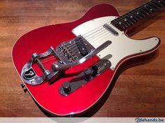 Fender Custom Bigsby Telecaster '62 Reissue, Candy Apple Red - Te koop