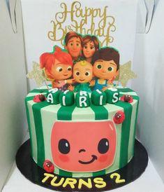 2nd Birthday Party For Boys, Baby Birthday Decorations, Birthday Ideas, First Birthdays, Princess Cakes, Pink Princess, Melon Cake, Amelia, Party Ideas