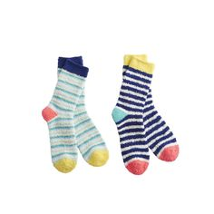 Joules Supersoft Ladies Fluffy 2PK Ankle Socks (S) - £11.65 www.countryhouseoutdoor.co.uk - If you've never worn fluffy fleece socks then you're in for a treat. So warm and soft you'll find it almost impossible to take them off.