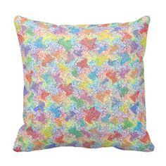 An Artist's Palette Pillow
