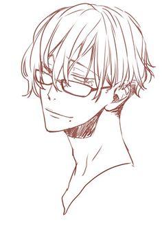Makishima (megane!!! And with short hair) -Yowapeda