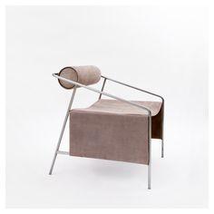 STYLE TABOO  Farrah Sit + Chiyome - Artic Smoke chair