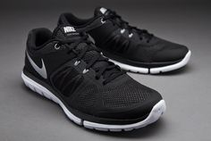 Nike Flex 2014 Run - Black/Metallic Silver/Lt Mgnt/Grey/White