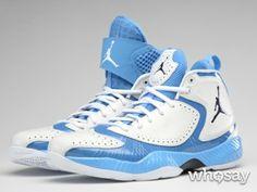 71b16fa0e25 ... the Tar Heels  Carolina blue colorway. North Carolina shoes by Jordan  brand for NCAA s