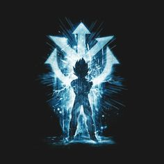 Check out this awesome 'sayan+storm+blue' design on @TeePublic!