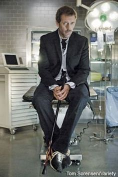 Gregory House....sexy sexy man :)