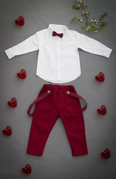 Ring Bearer Suit, Ring Bearer Outfit, Page Boy Outfit, Baptism Boy Outfit rustic ring bearer outfit suspenders bowties Linen suit for boy Wedding Suit for Toddlers Christening Christmas Wedding Suits, Boys Wedding Suits, Ring Bearer Suit, Boys Formal Wear, Toddler Suits, Linen Suit, Page Boy, Boys Suits, Boy Costumes