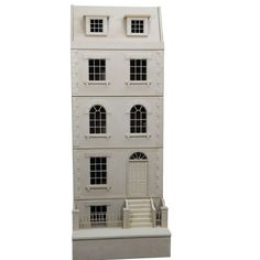 The Town House Room-by-Room - 1:12 Scale what a great idea! Room boxes you connect and can add on as your finances or time allow! With the current exchange rate we yanks need to be thinking outside the box, lol. But beware! Some British sites are taking advantage of us and NOT altering prices! Be careful and get creative! For years it's been the other way, gorgeous items over there out of reach!
