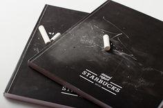 Starbucks Annual Report Design on Behance