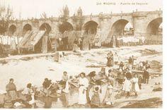 Puente Segovia y Rio Manzanares