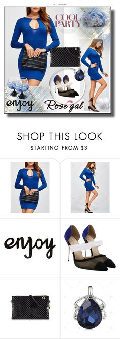 """""""Find Your Style /Rosegal 35"""" by rose-99 ❤ liked on Polyvore featuring dresses, shopping and jewelry"""