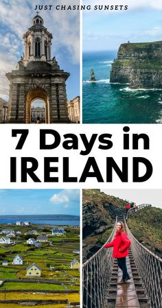 Do you have 7 days in Ireland? Here is the best travel itinerary for one week in Ireland. Check out my tips for traveling in the best spots around Ireland including Dublin, Galway, the Cliffs of Moher, and Killarney. This Ireland travel guide will check all of the items on your Ireland bucket list.