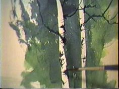 This is a demo of how I create birch trees in watercolor by painting the background first.. I hope you enjoy it!