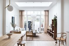 Steal This Look: An Interior Designer's High/Low Scandi Living Room, Ikea Sofa included - Remodelista Scandi Living Room, French Living Rooms, French Country Living Room, Simple Living Room, Elegant Living Room, Living Room Decor, Dining Room, Ikea Sofa, Eclectic Decor